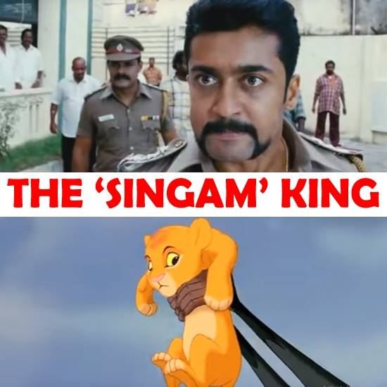 The Lion King - The Singam King