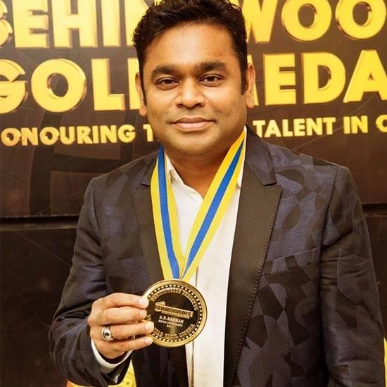 Best Music Director - AR Rahman for Kaatru Veliyidai and Mersal
