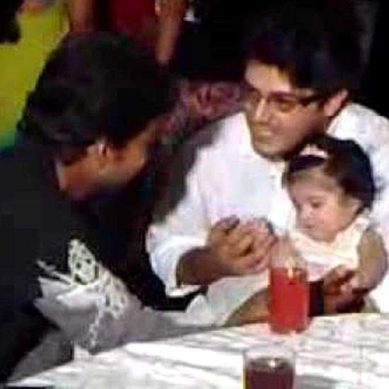Ajith and Vijay attend a birthday event hosted by Arun Pandian