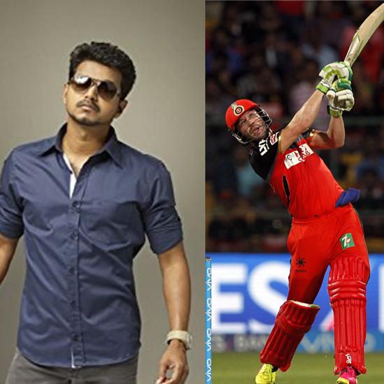 Vijay - AB De Villiers