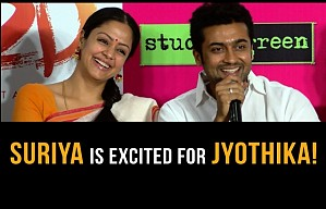 Suriya is an excited husband!