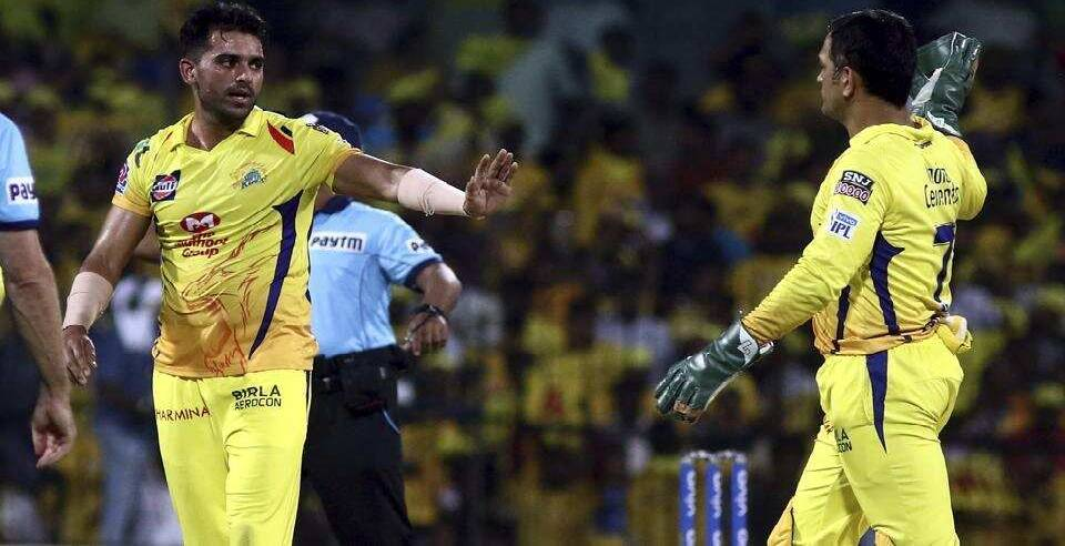 msdhoni 3 word response to deepak chahar csk role i groom players