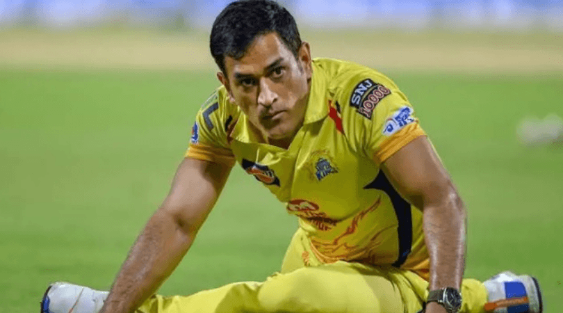 msdhoni shows off muscles well built physique during gym session