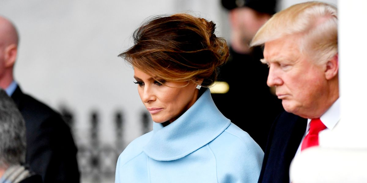 donald trump first lady melania trump test positive for covid19
