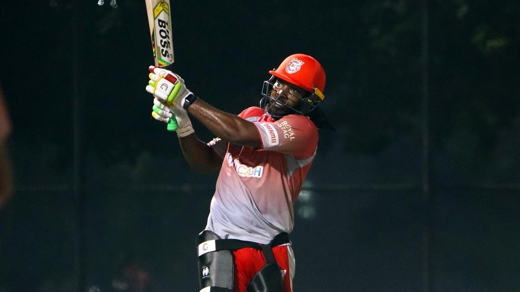 chris gayle back in training for kxip, recovers from stomach bug