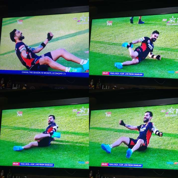 RCB captain Virat Kohli dance in ground video goes viral