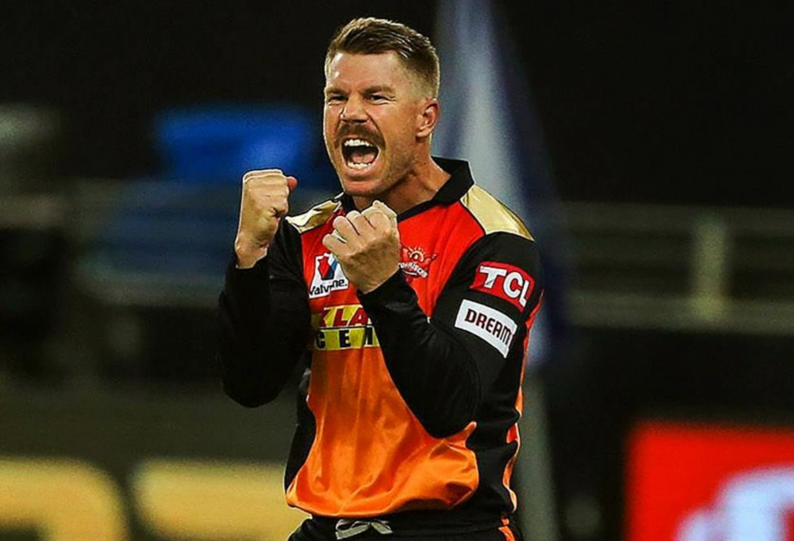 IPL RCBvsSRH AB de Villiers Shouts Run Out As Warner Faces Free Hit