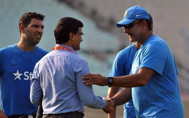 Ravi Shastri Slammed For Snubbing Sourav Ganguly In His Tweet For IPL