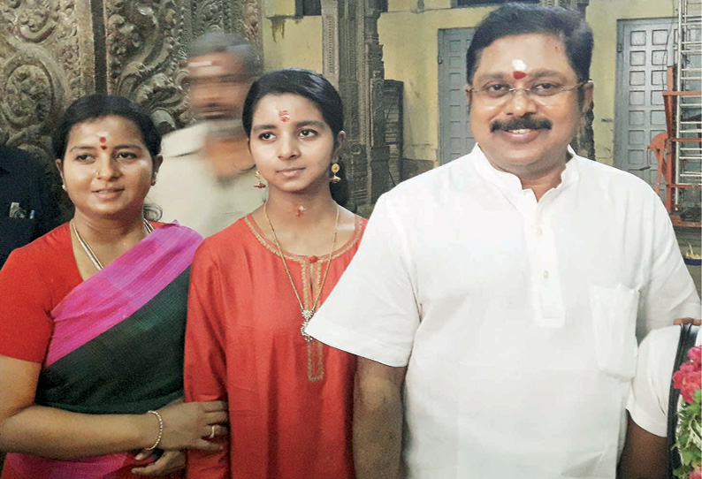 Dhinakaran's daughter's marriage will be held after sasikala release