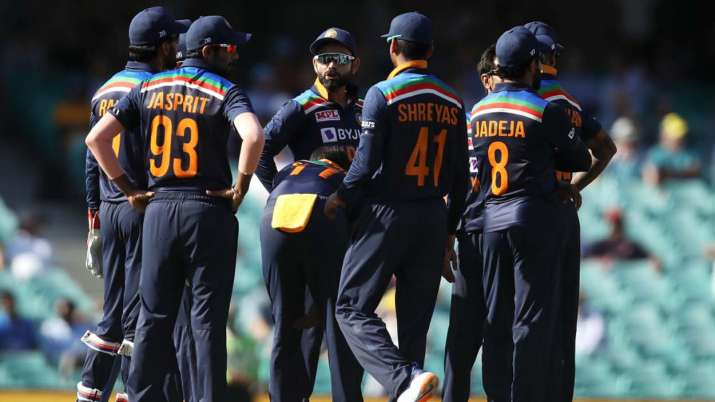 teamindia fined for slow over rate in 1st odi defeat against aus
