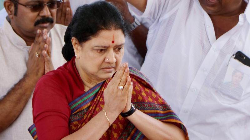 VK Sasikala, Scheduled To Be Out Of Jail In Jan