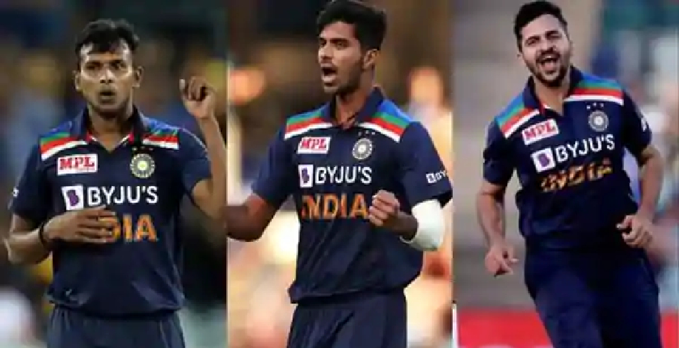 T Natarajan, Shardul Thakur, Washington Sundar asked to stay back