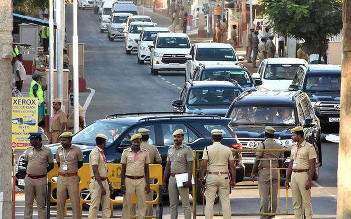 Traffic diversions announced in Chennai on Feb 14 for PM Modi's visit