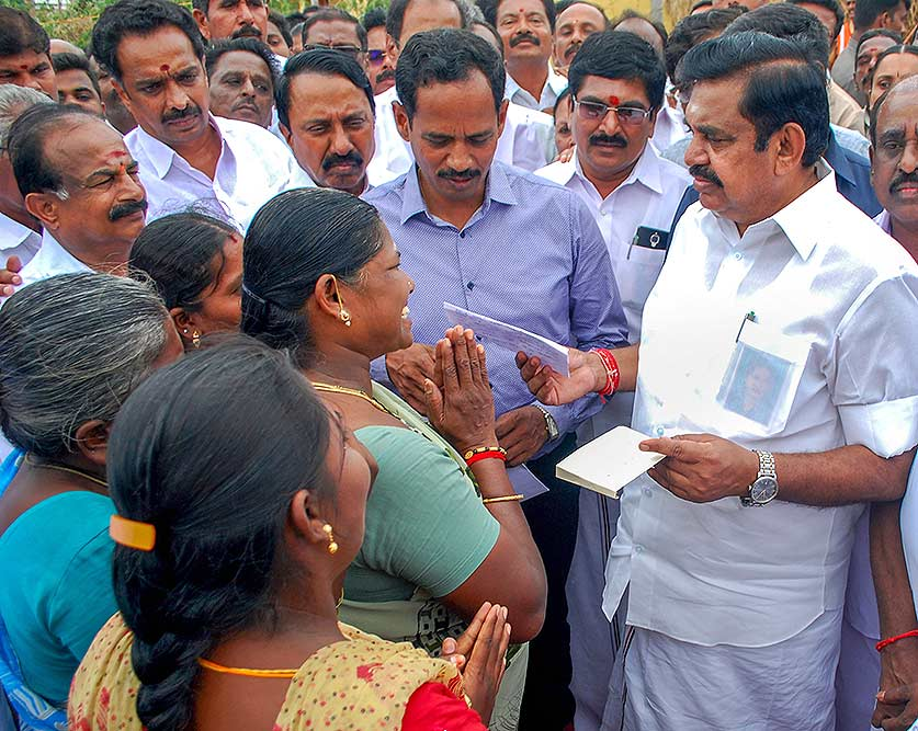 tn cm palaniswami says 1500 rs provided for household women