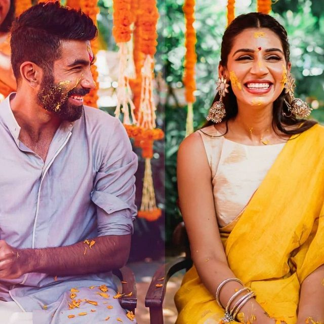 Jasprit Bumrah and Sanjana Ganesan's wedding album goes viral