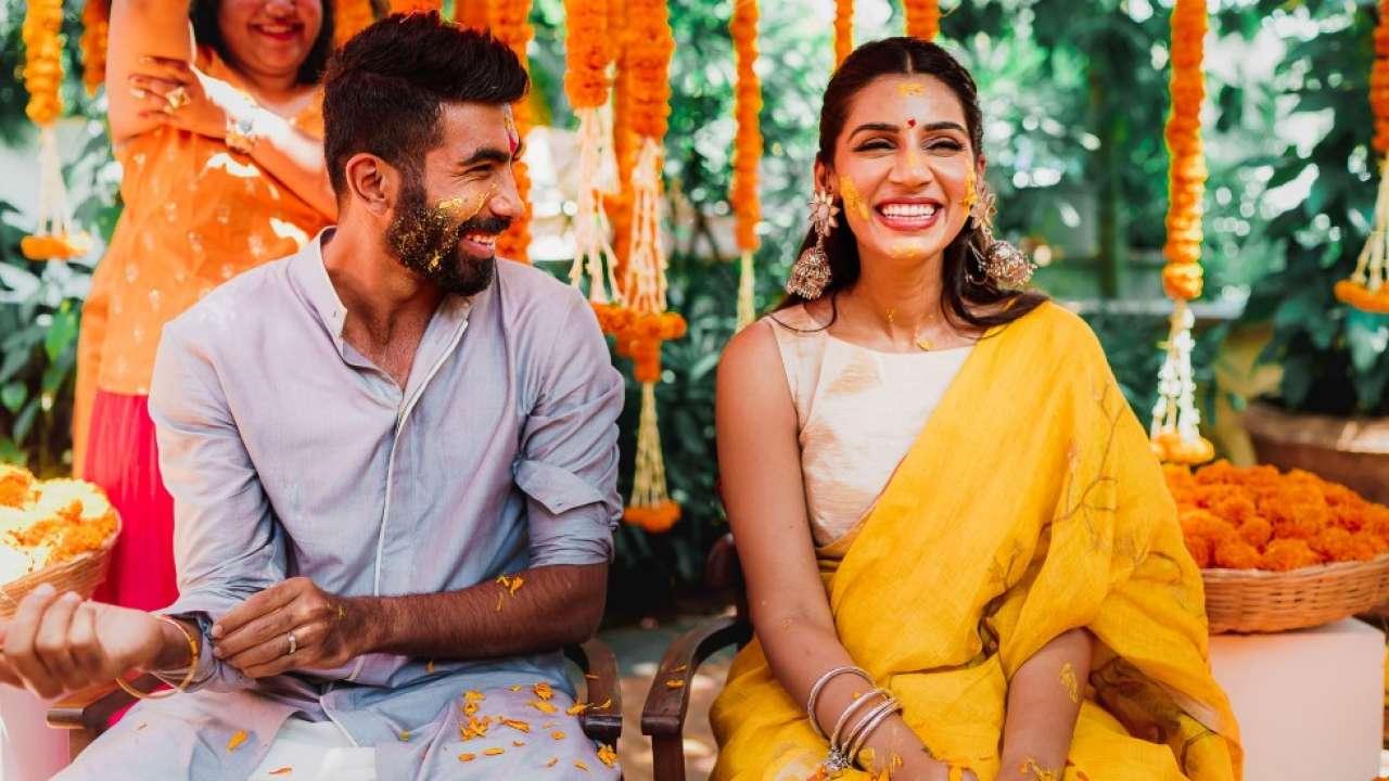bumrah - sanjana wedding video gone viral on social media