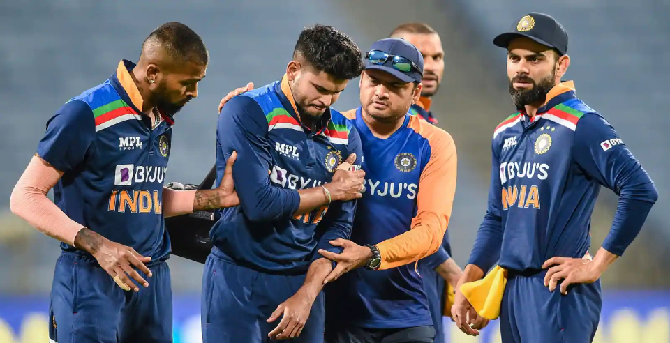 Shreyas Iyer underwent surgery for a shoulder injury.