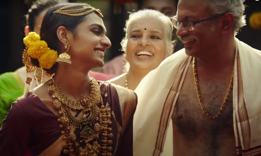 Bhima Jewellery's Ad featuring a transperson's journey