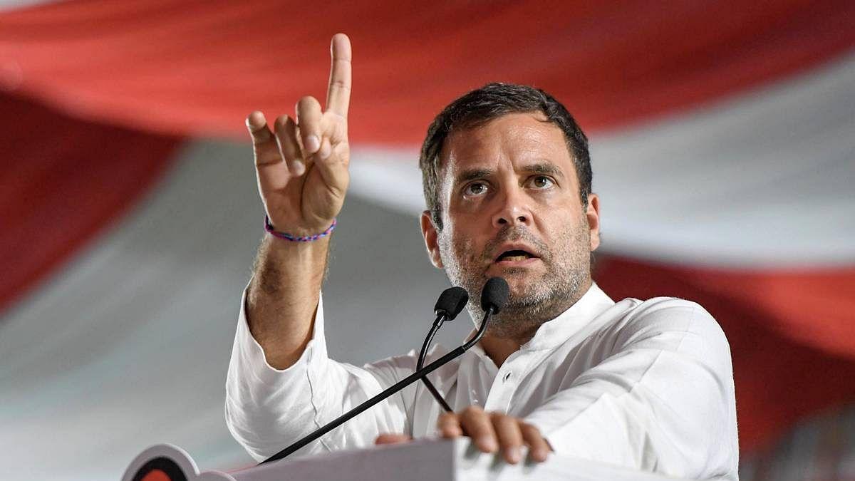 Rahul Gandhi warning last year that the Corona was like a tsunami