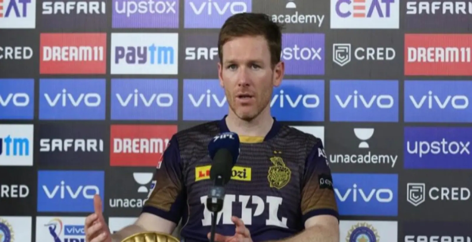 eoin morgan said Sivam Mavi the only reason for our victory