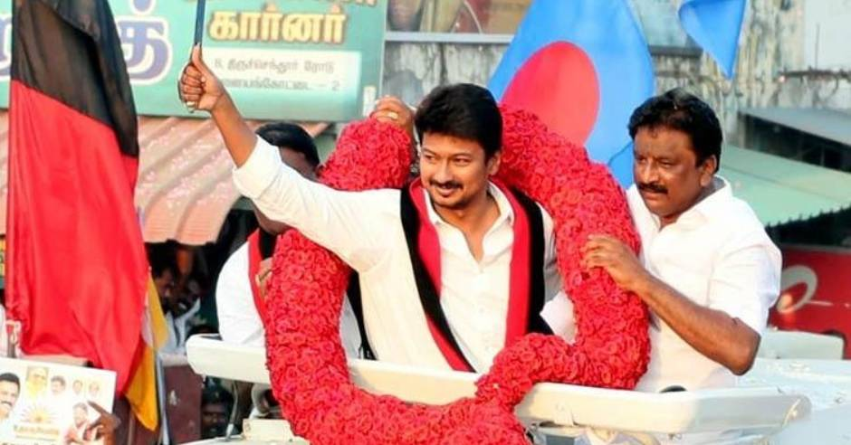 DMK Udhayanidhi Stalin press meet after election success
