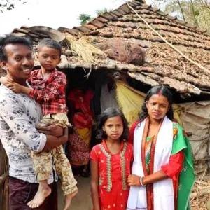 BJP Candidate Chandana Bauri, Wife of Mason, Wins in Bengal's Saltora