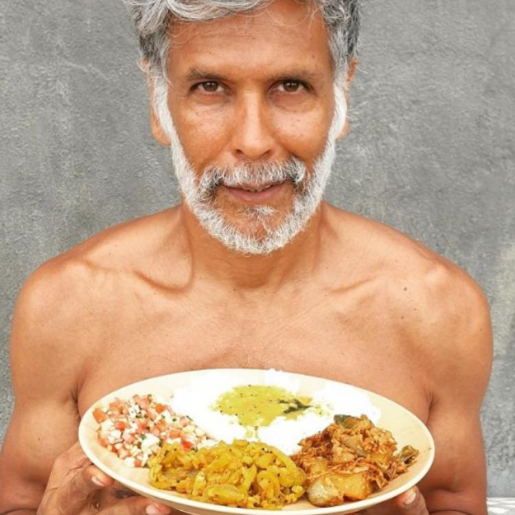Milind Soman reveals what does he eat in a day