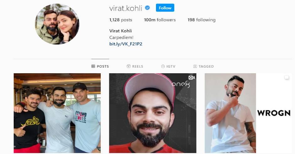 Virat Kohli makes it to list of Instagram richlist
