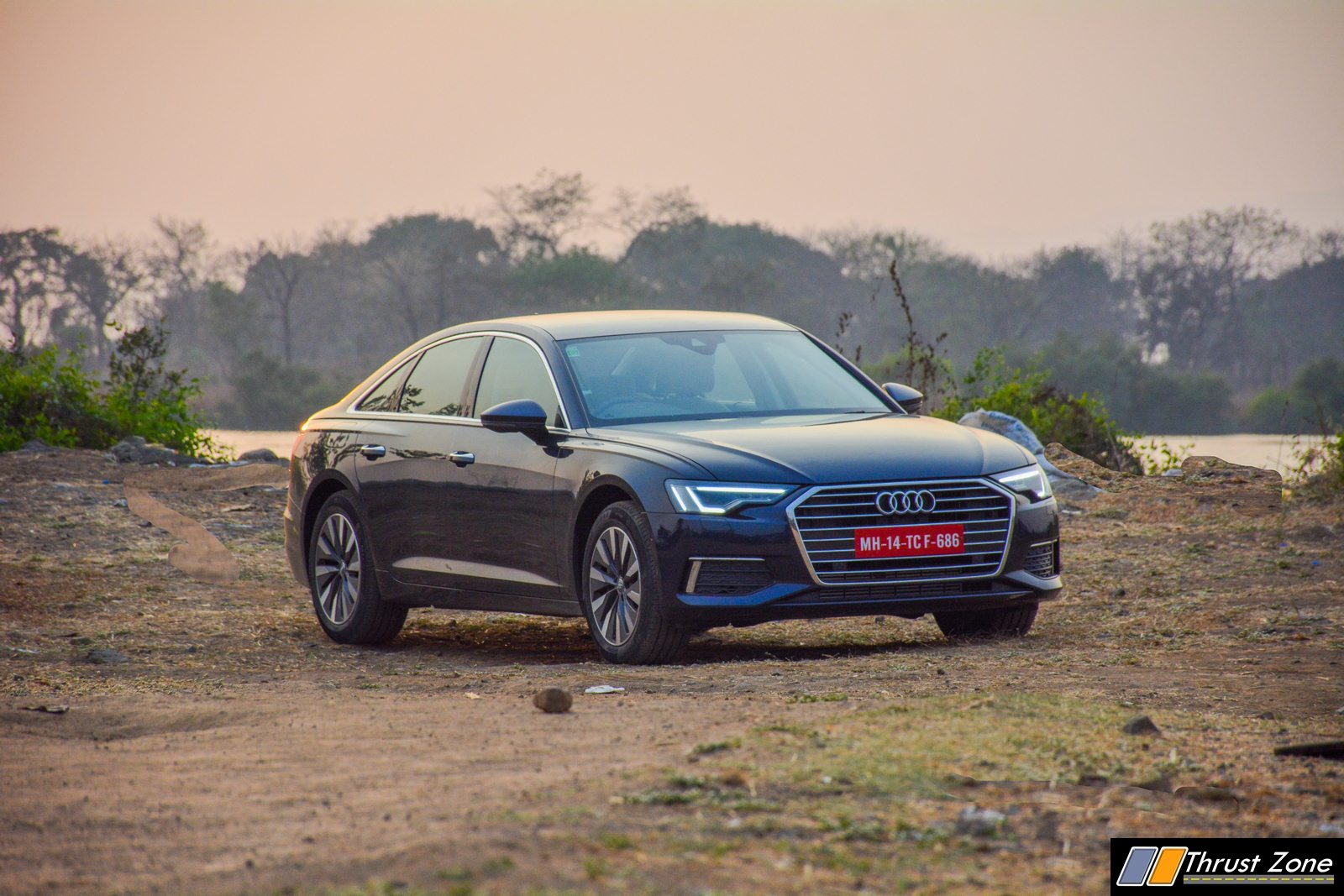 We don't have luxury car, we only have an Audi A6 car, Madan's wife