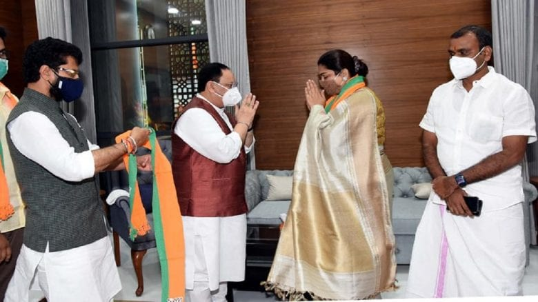 Tamil Nadu chief L Murugan, newly inducted into Union Cabinet