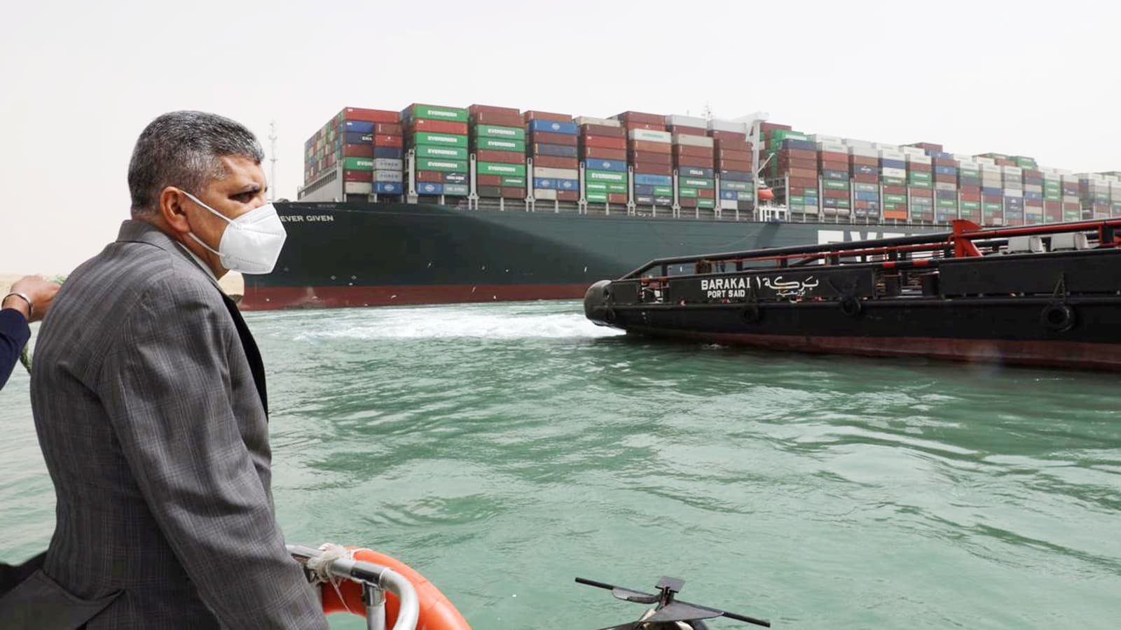 Ever Given Ship that blocked Suez Canal sets sail after deal signed