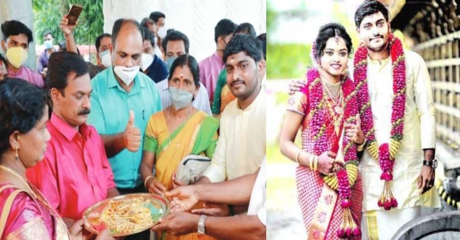 Kerala youth declares Big statement on wedding day
